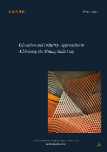 Cover of Swann's mining education report