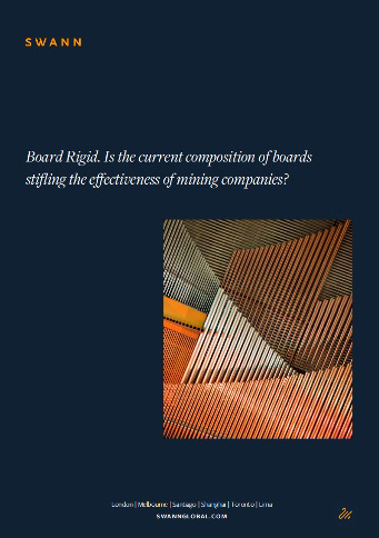 Cover of Swann's Board Rigid white paper.
