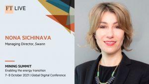 Nona Sichinava speaker profile FT Summit